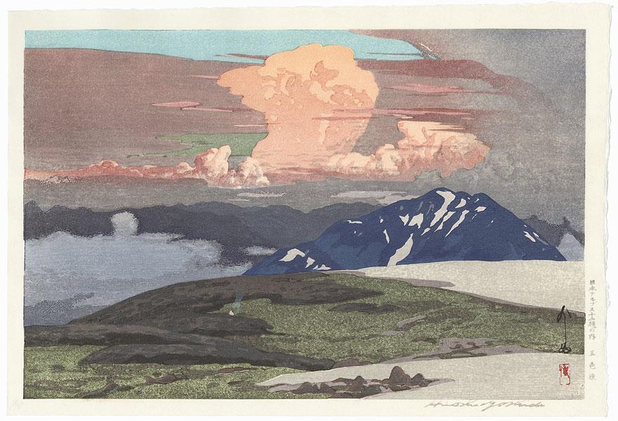 Goshikigahara by Hiroshi Yoshida (1876 - 1950)