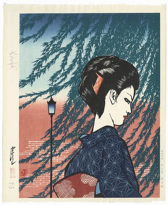 Woman of the Taisho Era by Masayuki Miyata (1926 - 1997)