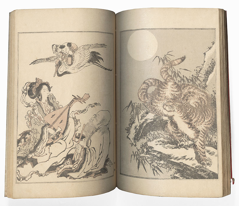 Kansai's Album, Volume 4, 1893 by Ichikawa Kansai