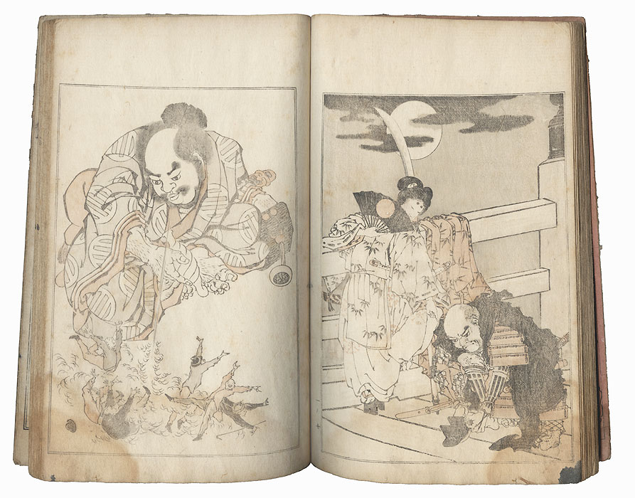 Kansai's Album, Volume 1, 1891 by Ichikawa Kansai