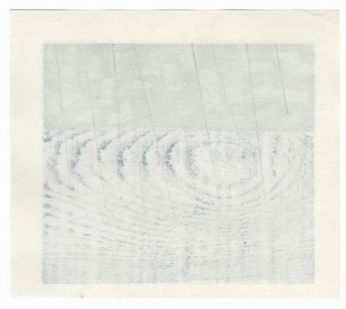 Spring Rain by Yoshisuke Funasaka (born 1939)
