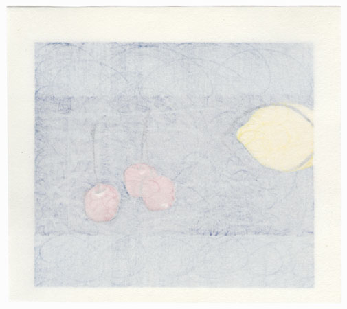 Lemon and Cherries, 1986 by Yoshisuke Funasaka (born 1939)
