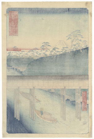 Ochanomizu in the Eastern Capital, 1858 by Hiroshige (1797 - 1858)