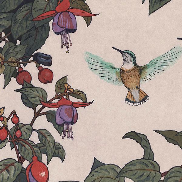 Hummingbird and Fuchsia, 1971 by Toshi Yoshida (1911 - 1995)
