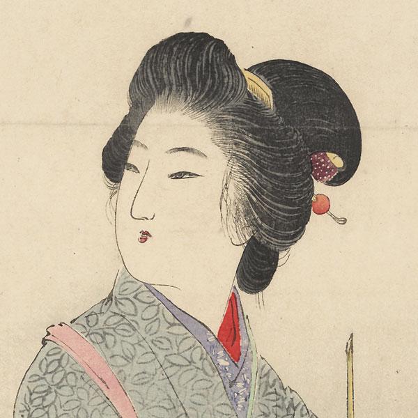 Cuckoo Kuchi-e Print, 1906 by Suzuki Kason (1860 - 1919)