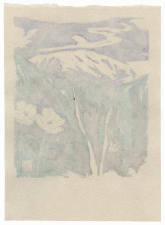 Landscape with Wildflowers, 1990 by Seiko Kawachi (born 1948)