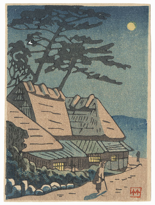 A Clearance Opportunity! Shin-hanga & Modern era Original by Takeji Asano (1900 - 1999)