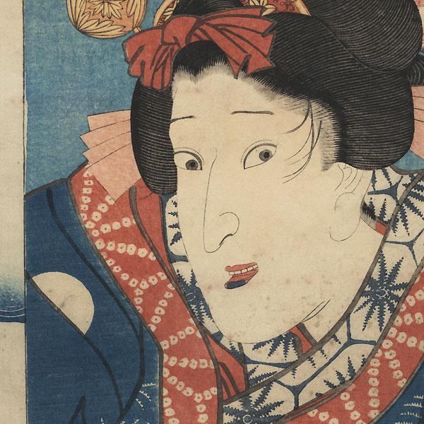 Ichikawa Shinsha I by Toyokuni III/Kunisada (1786 - 1864)