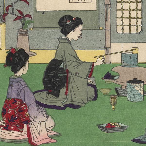 Tea Ceremony by Ginko (active 1874 - 1897)