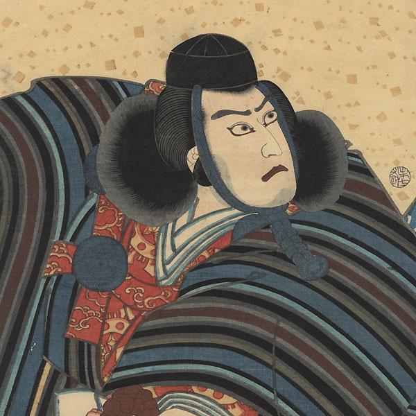 The Subscription List, 1859 by Toyokuni III/Kunisada (1786 - 1864)