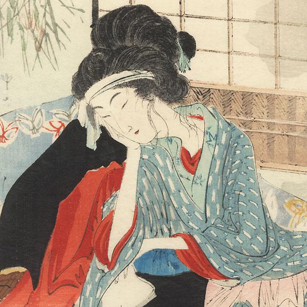 Surgery Kuchi-e Print by Toshikata (1866 - 1908)