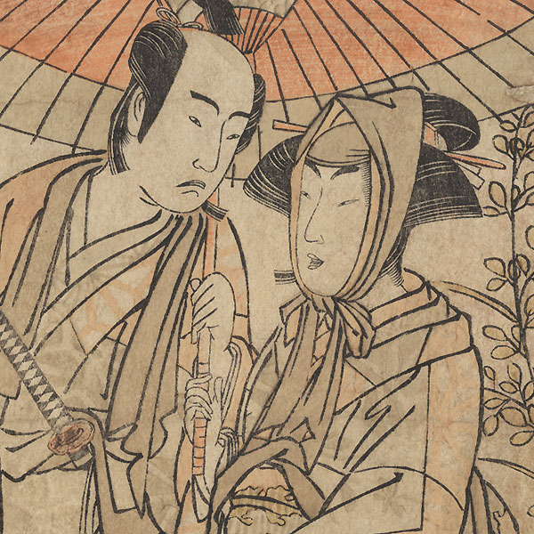 Scene from the Play Kabuki no Hana Bandai Soga, 1781 by Shunsho (1726 - 1792)