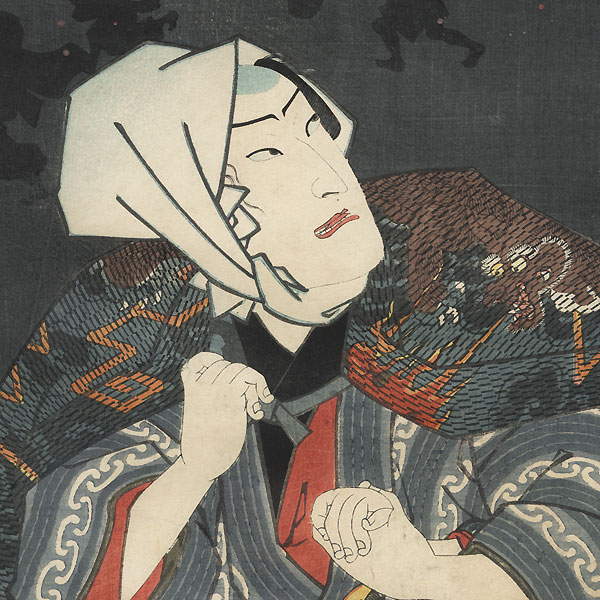 Urazato and Tokijiro: That Licensed Quarter Dream of a Night Crow, 1860 by Toyokuni III/Kunisada (1786 - 1864) and Yoshitsuya (1822 - 1866)