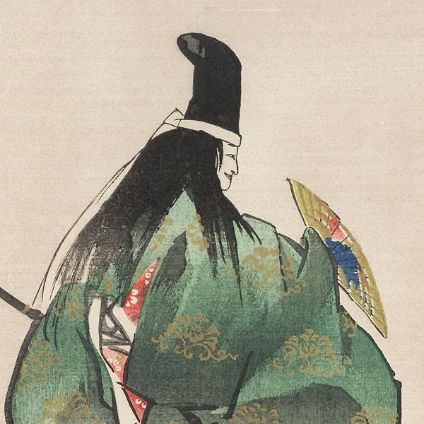 Ikuta Atsumori by Tsukioka Kogyo (1869 - 1927)