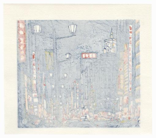 City Lights, 1988 by Takao Sano (born 1941)