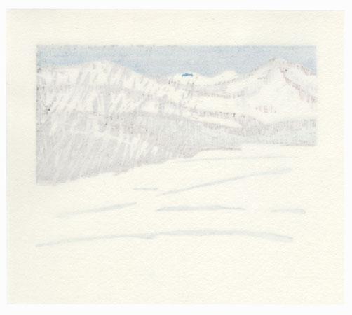 Winter Landscape, 1997 by Yoshisuke Funasaka (born 1939)