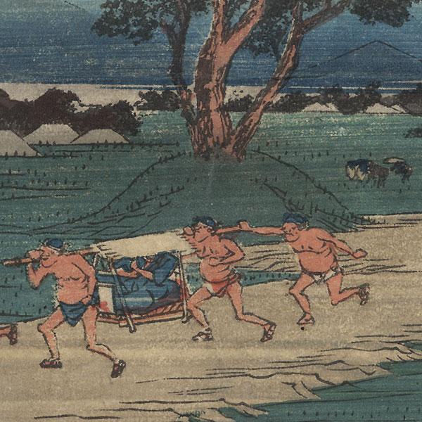 Shono by Hiroshige (1797 - 1858)