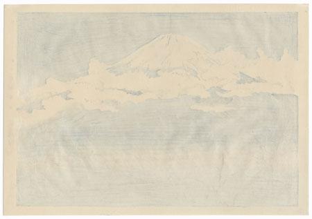Fuji from Akinono by Tokuriki (1902 - 1999)