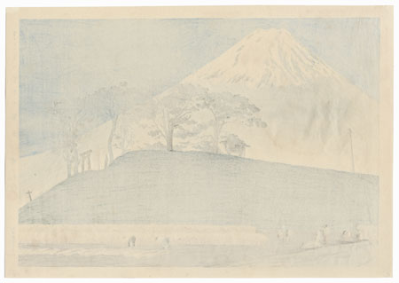 Fuji from Honen by Tokuriki (1902 - 1999)
