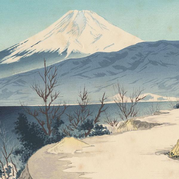 Izu Eri Coast by Tokuriki (1902 - 1999)