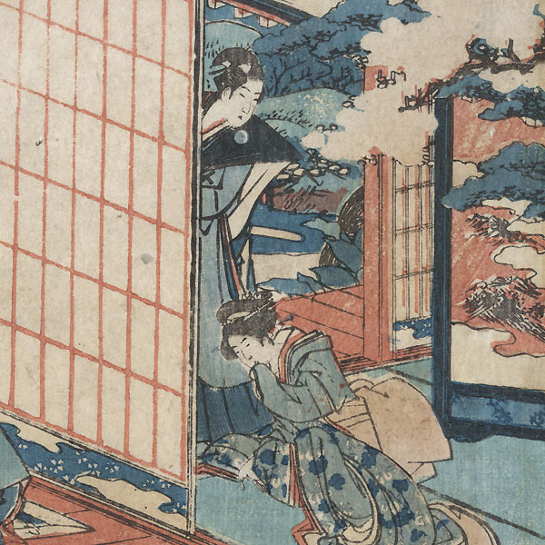 The 47 Ronin, Act 2, circa 1806 by Hokusai (1760 - 1849)