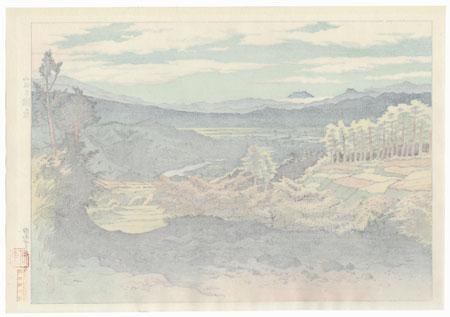Takigawara, Kitasaku by Ito Shinsui (1898 - 1972)