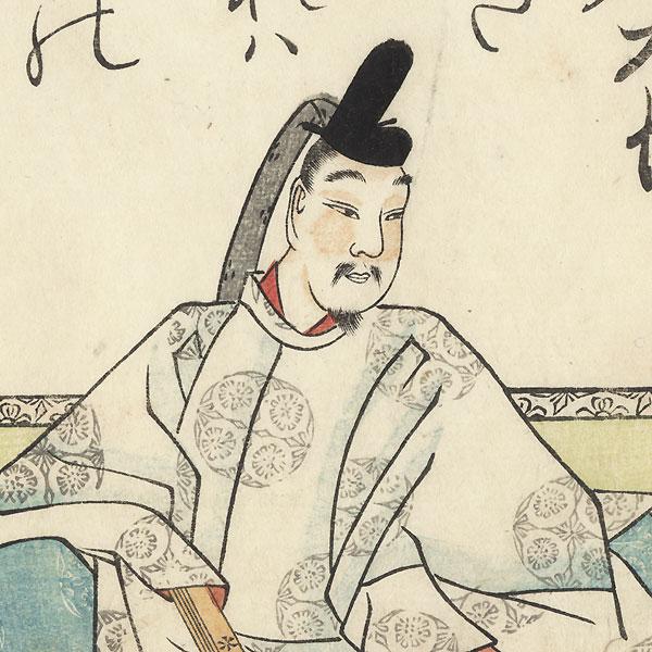 Tokudaiji Sanesada, 1808 by Mitsusada Tosa (1738 - 1806)
