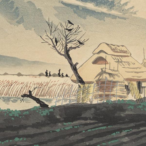 Mt. Hira by Tokuriki Tomikichiro (1902 - 1999)