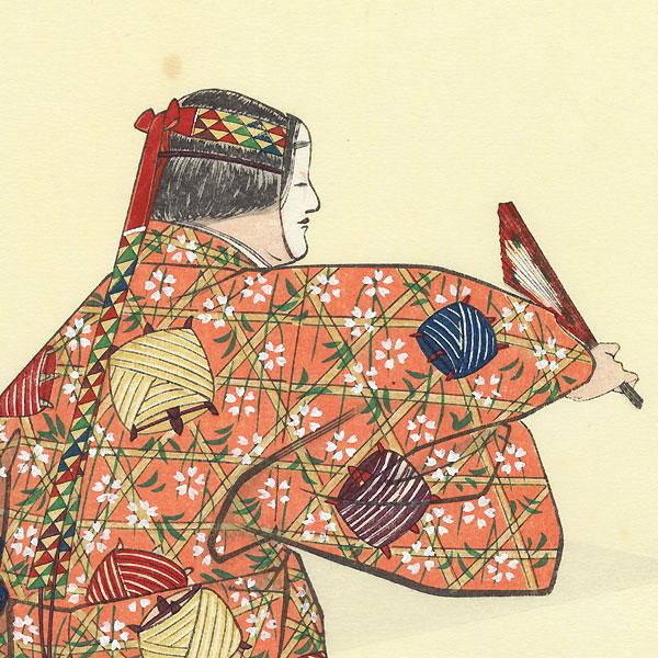 April: Dojoji by Sofu Matsuno (1899 - 1963)