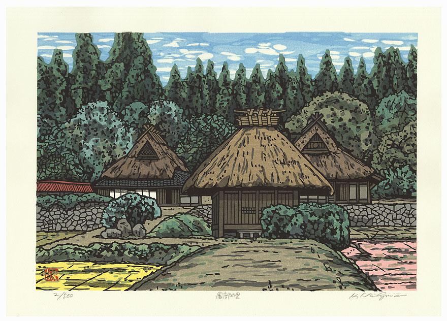 Village by Nishijima (born 1945)