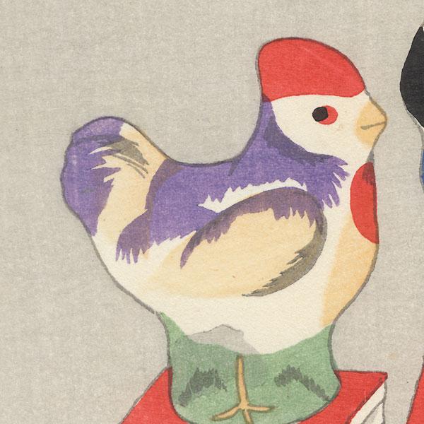 Bird Toys by Shin-hanga & Modern artist (not read)