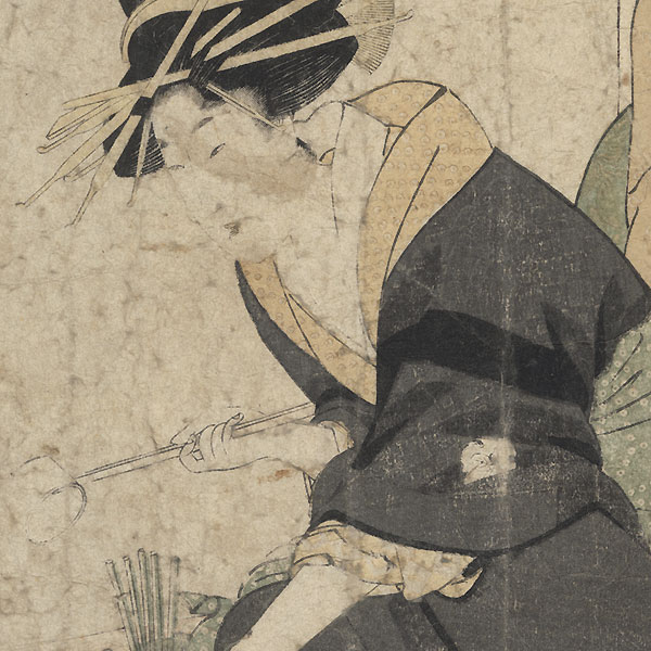 Segawa of the Matsubaya, 1802 by Utamaro (1750 - 1806)