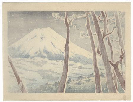 Winter by Tokuriki (1902 - 1999)