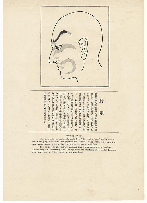 Makeup of Wels, 1924 by Ota Masamitsu (1892 - 1929)