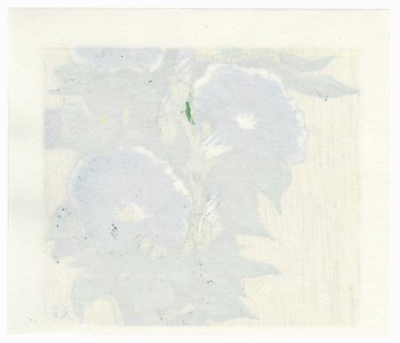 Blue Morning Glories by Takao Sano (born 1941)