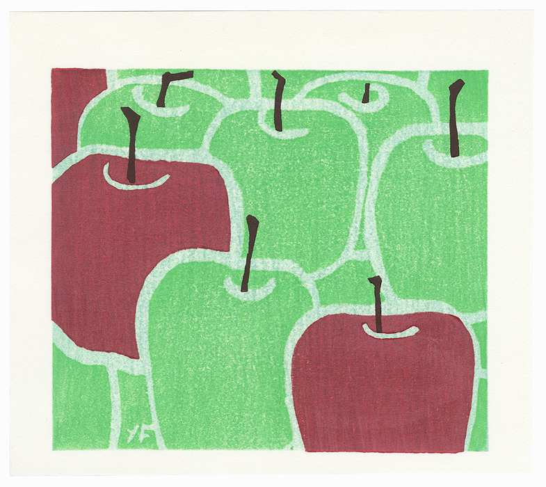 Apples, 1992 by Yoshisuke Funasaka (born 1939)