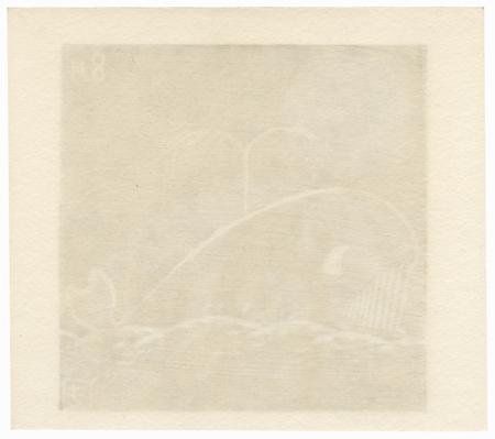 August: Whale by Kikuo Gosho (born 1943)