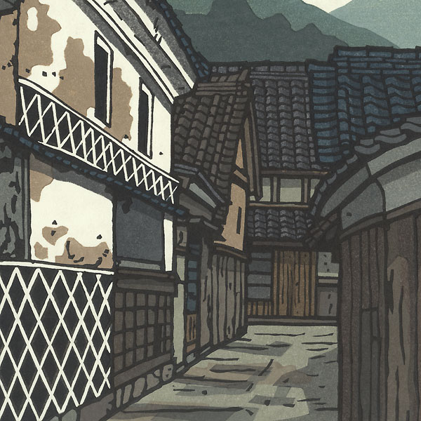 Old Town by Nishijima (born 1945)