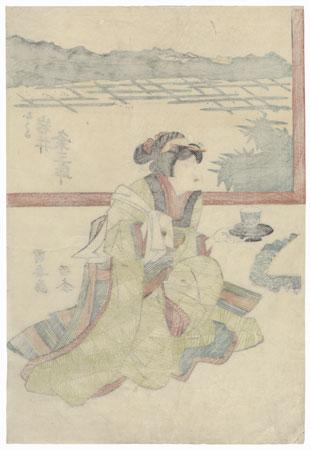Iwai Kumesaburo by Kuniyasu (1794 - 1832)