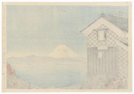 The Sea at Izu by Tokuriki (1902 - 1999)