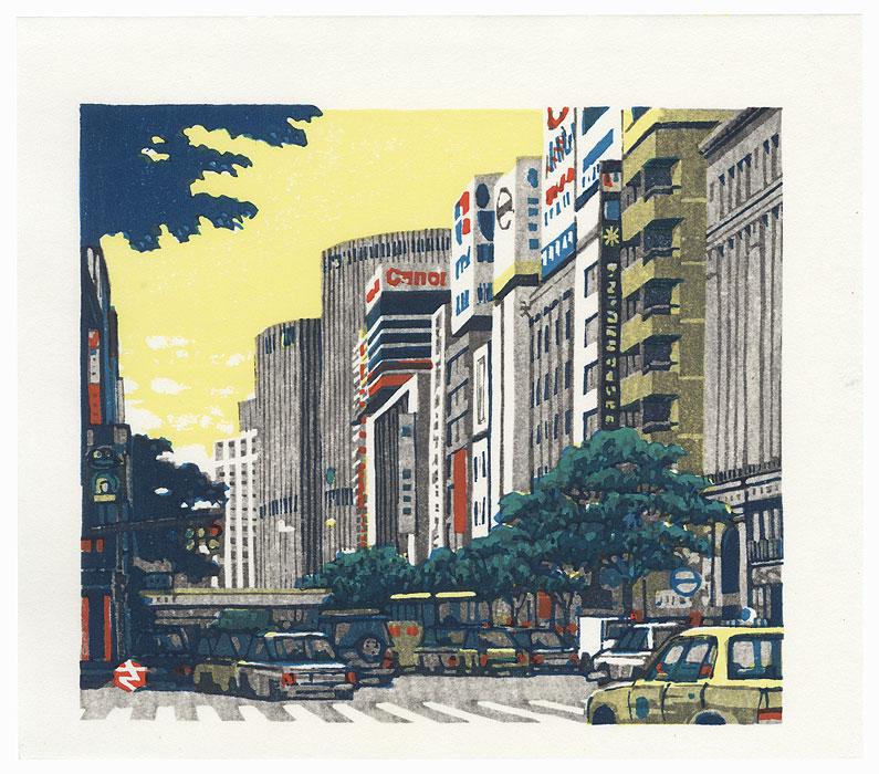 Cityscape, 1996 by Takao Sano (born 1941)