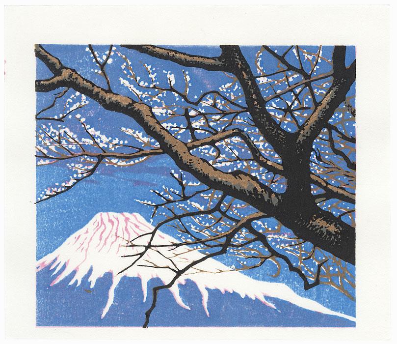 Mt. Fuji in Spring, 2003 by Koichi Maeda (born 1936)