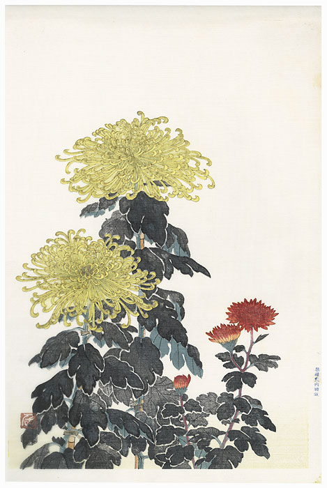 Offered in the Fuji Arts Clearance - only $24.99! by Tobei Kamei (1901 - 1977)