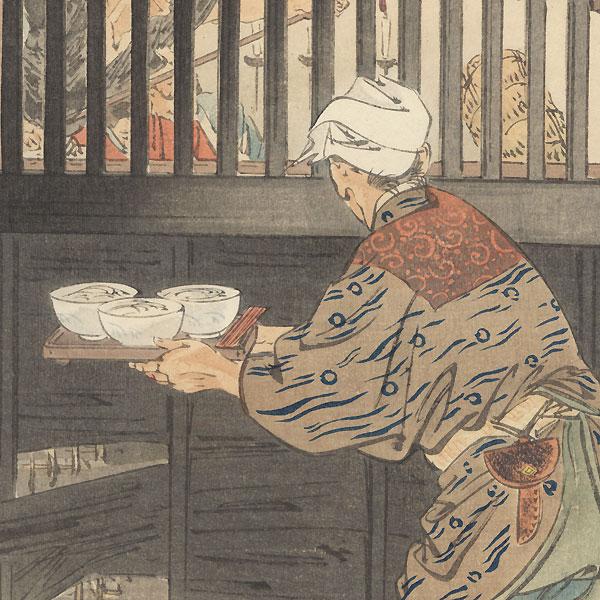 Sugino Juheiji Tsugifusa by Gekko (1859 - 1920)