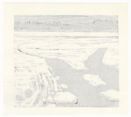 Ice Floes by Fumio Fujita (born 1933)