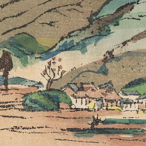 Shinshoji, Temple 25 by Hiromitsu Nakazawa (1874 - 1964)