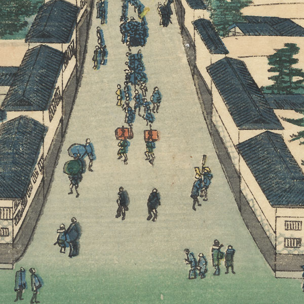 Kasumisaseki by Edo era artist (not read)
