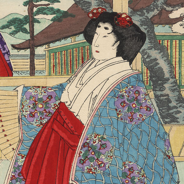 Lady Nii, No. 37 by Chikanobu (1838 - 1912)