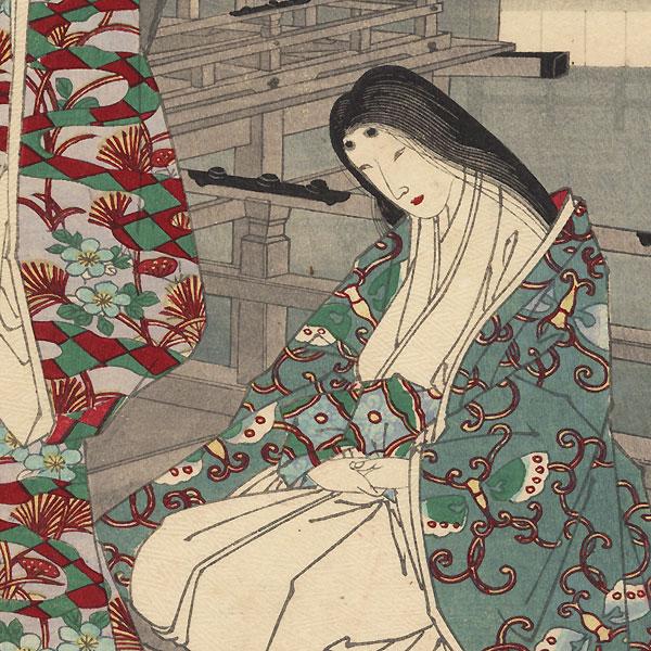 Gio and Gijo, No. 7 by Chikanobu (1838 - 1912)