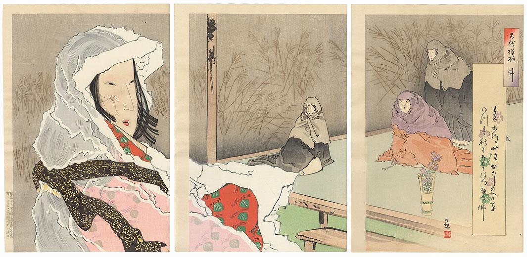 Hotoke-gozen  by Kiyochika (1847 - 1915)